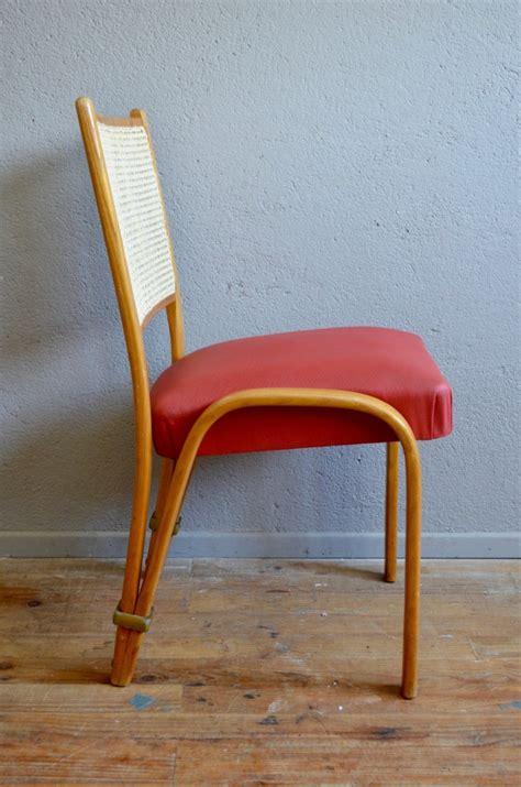 bow wood chair by wilhelm von bode for steiner 1950s for