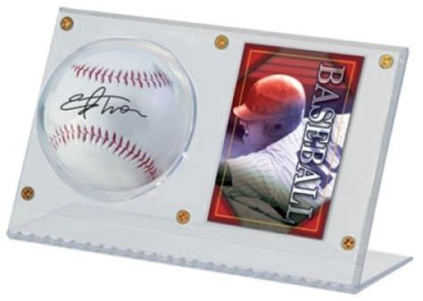 ultra pro baseball memorabilia holders bats balls hats