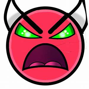 Geometry Dash Demon Logo Pictures to Pin on Pinterest ...