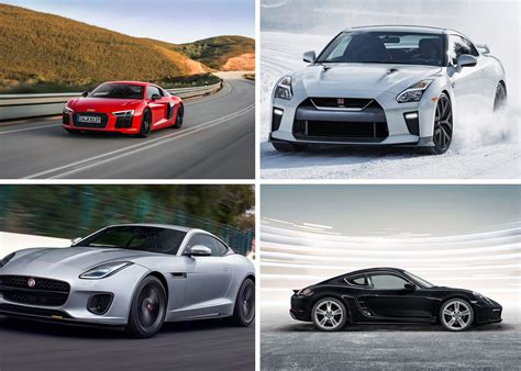 luxury sports cars ranked  affordability