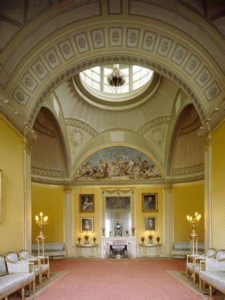 yellow drawing room designed  sir john soane