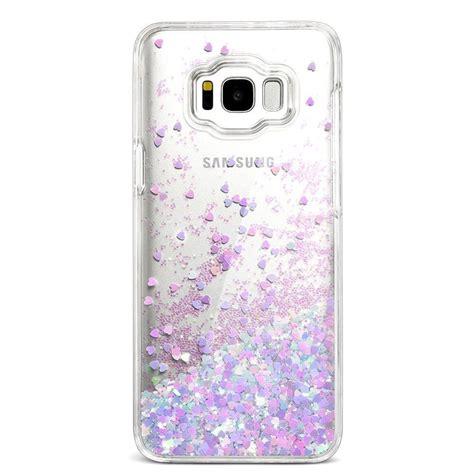 samsung galaxy  case bling flowing glitter liquid