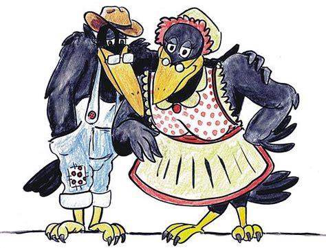 Two Old Crows By Dwayne Davis