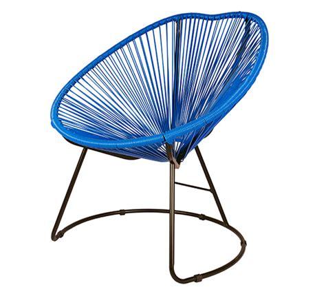 fauteuil de jardin copacabana fil bleu 99 salon d 233 t 233
