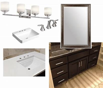 Master Wainscot Bathroom Sleek Bright Update Reveal