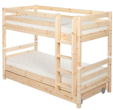 bunk beds flexa bunk bed w drawers