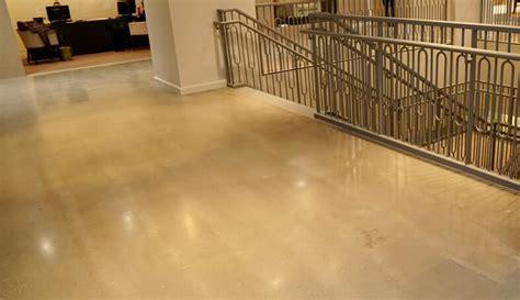 Business Interior Floors   Polished Concrete Flooring