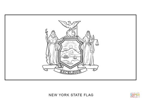 Wisconsin State Seal Coloring Page Flag Grig3org