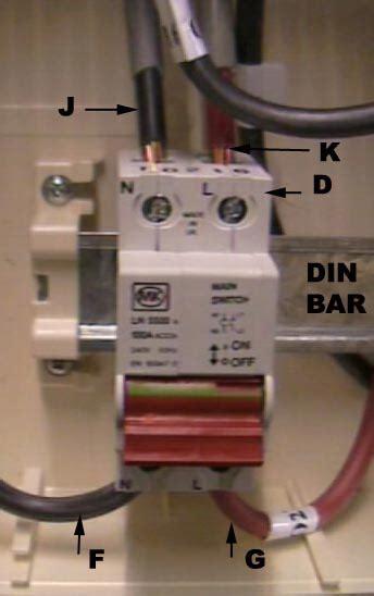 wiring a garage consumer unit diagram wiring diagram