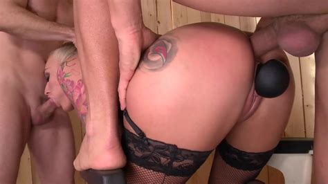 Extreme Anal And Cum Shots For The Blonde Whore XBabe Video