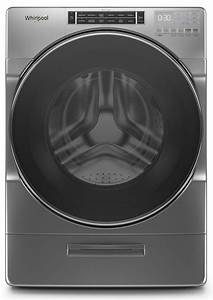 User Manual Whirlpool Wfw8620hc 5 0 Cu  Ft  Front Load