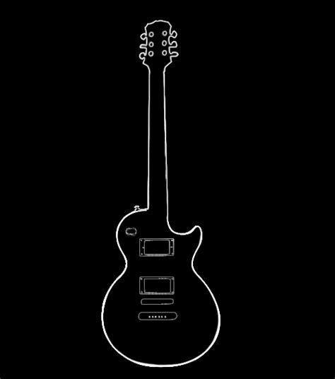 guitar outline clipartioncom