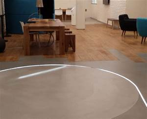 showroom sol beton cire aldebaran parquet With parquet beton ciré