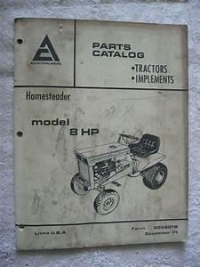 Ac Allis Chalmers Homesteader 8 Hp Lawn Tractor Mower