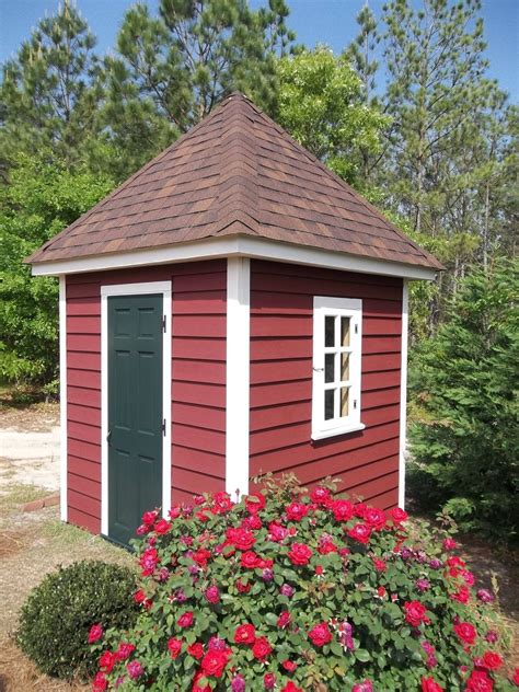 custom made williamsburg style garden shed by