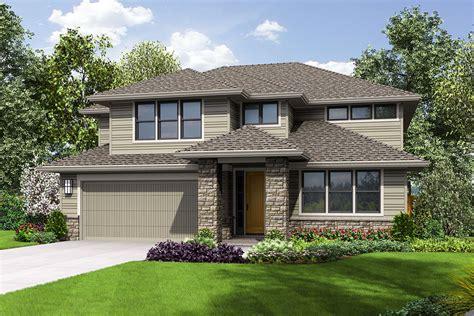 contemporary  story house plan  bonus room  architectural designs house plans