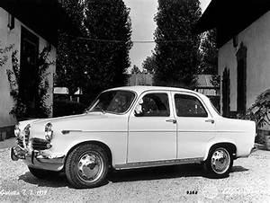 Alfa Romeo Serie 105 E 115  1962