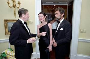 Reagan with Audrey Hepburn & Robert Wolders, 1981 ...