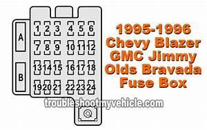 1996 Gmc Jimmy Fuse Box Diagram