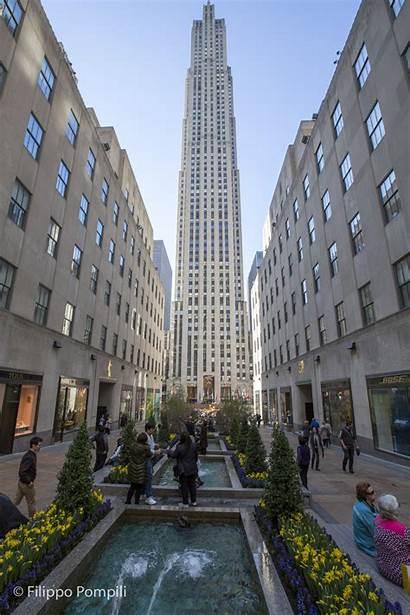 Rockefeller Center Observation Deck Streets Built Rock