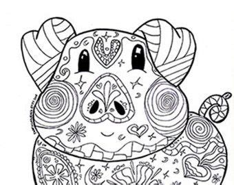 pig coloring pages for adults coloring page coloring