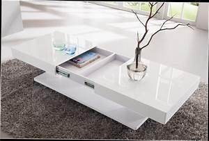 Table De Salon Alinea : table basse relevable moins cher table basse design blanc ~ Dailycaller-alerts.com Idées de Décoration