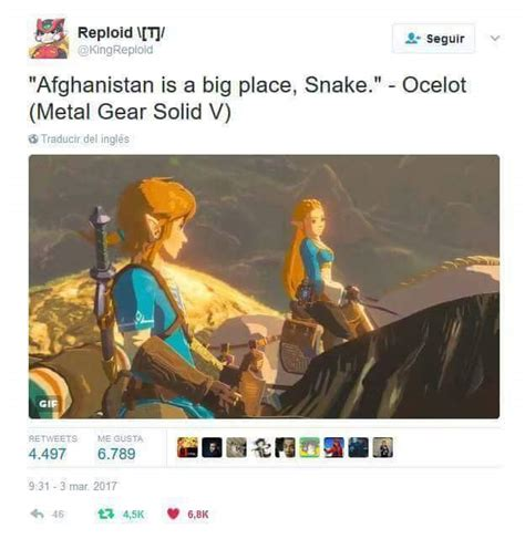 Metal Gear Solid Memes - speculation gameplay designers of breath of the wild played lot of metal gear solid v page 2