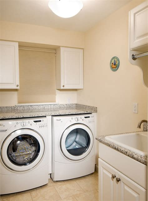 washer dryer cabinets 20 small laundry room makeovers with small space solutions