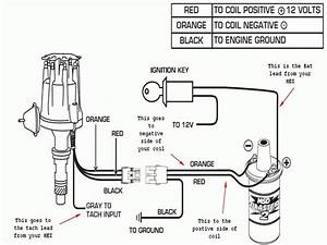 Msd Coil And Distributor Wiring Diagram
