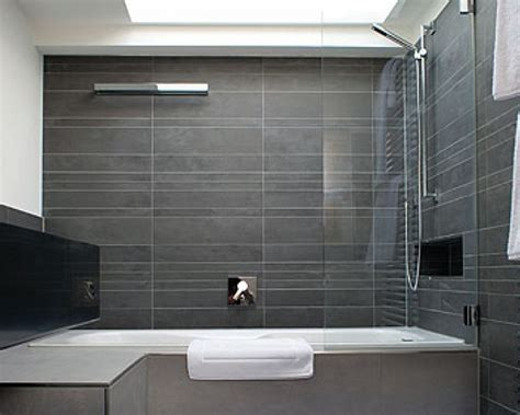 magnificent ultra modern bathroom tile ideas  grey