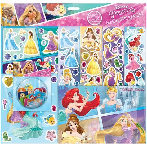 Stickers Princesse Disney Disney Princess Mega Sticker Album Set Crafts B M