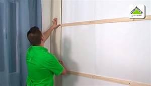 Cómo aislar paredes con friso de MDF Leroy Merlin