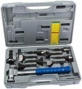 Kfz Werkzeug Set : ausbeulwerkzeug ausbeul hammer set 10 tg ausbeulen werkzeug kfz karosserie blech ebay ~ Yasmunasinghe.com Haus und Dekorationen