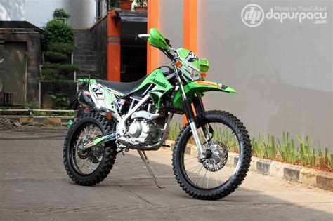 Kawasaki Klx 230 Modification by Kawasaki Klx 150 Adventure Modification