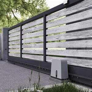 Portail Coulissant Sur Rail : accessoires pour portail coulissant manuel ~ Edinachiropracticcenter.com Idées de Décoration