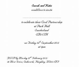 Evening wedding invitation wording exles life style by for Examples of wedding invitation wording uk
