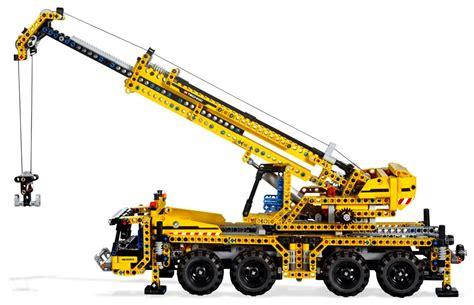 Gru Mobile by Lego Technic 8053 Pas Cher La Grue Mobile