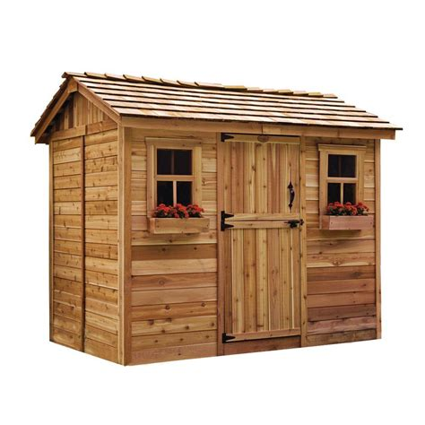 outdoor sheds home depot outdoor living today cabana 6 ft x 9 ft western