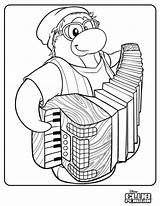 Penguin Club Coloring Accordion Stuff Lrg Test Cool Issue Times Honest Petey Player Response sketch template