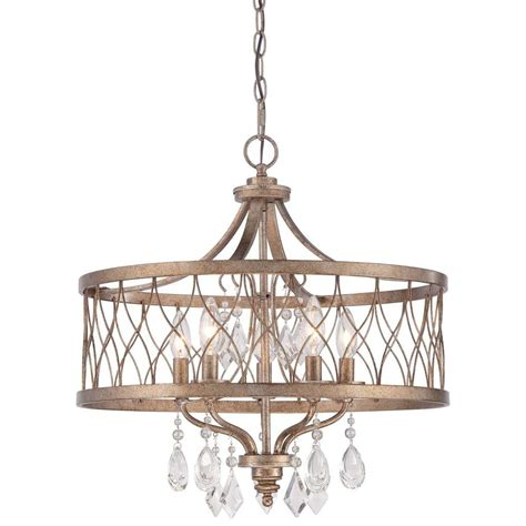 And Gold Chandelier by Minka Lavery West Liberty 5 Light Olympus Gold Chandelier