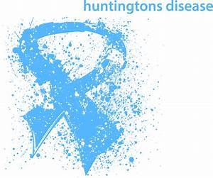 Awareness Splatter Ribbon - Huntingtons Disease T-Shirt