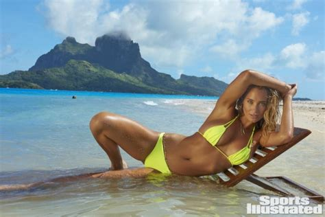 Hannah Davis Nue Dans Sports Illustrated Swimsuit
