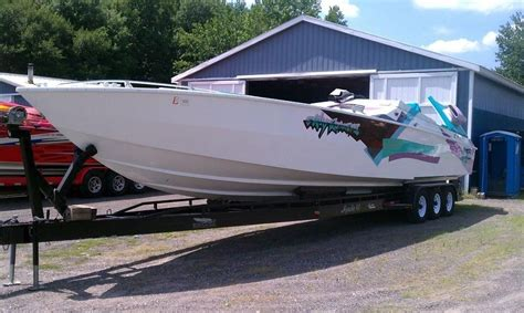 Cigarette Boat Te Koop by 1989 Apache 41 Racer Power Boat For Sale Www