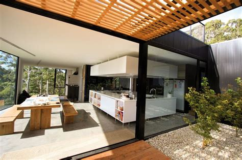Outdoor Verandah Designs by Verandah Designs Glazed Veranda Design Idea Open Roof
