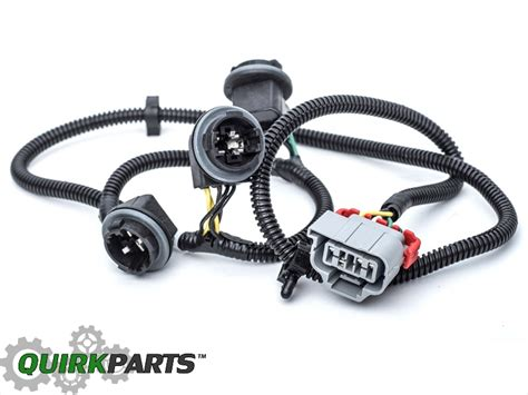 Oem New Right Left Tail Light Wiring Harness Set