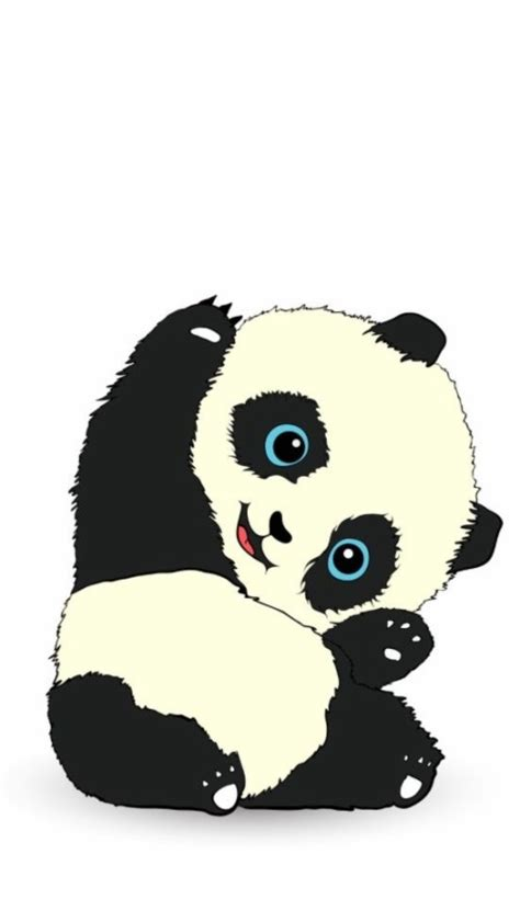 keren  foto wallpaper sweet panda richa wallpaper