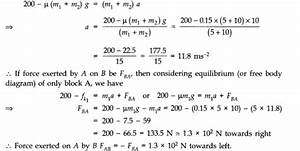 Ncert Solutions For Class 11 Physics Chapter 5 Laws Of