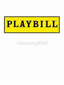 """Playbill "" Stickers by Dianamorg9462 Redbubble"