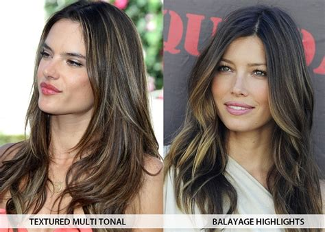 Hair Color Types Of by 7 Different Types Of Hair Highlights And Techniques