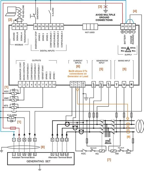Generac Amp Automatic Transfer Switch Wiring Diagram